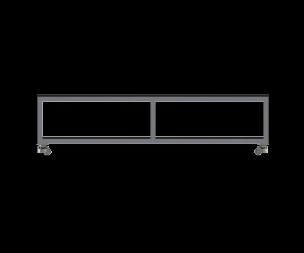 RAIL TABLE - 100x100 image 2